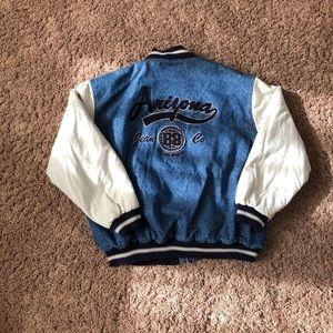 Vintage Arizona Denim Varsity Jacket